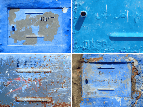 Fire Hydrants, Chefchaouen, Morocco