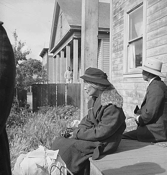 Photograph by Dorothea Lange