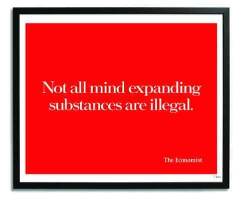 Not all mind expanding substances are illegal